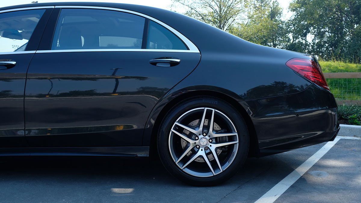 Mercedes-Benz S550 full