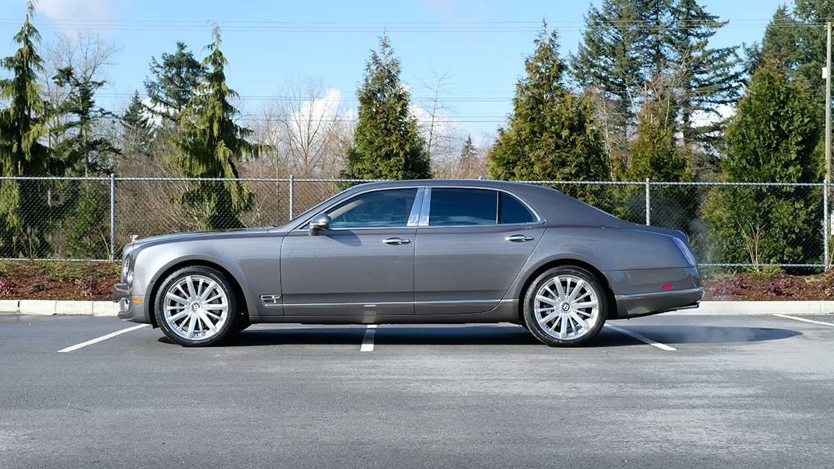 Bentley Mulsanne Mulliner full